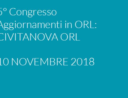 5° Congresso Aggiornamenti in ORL
